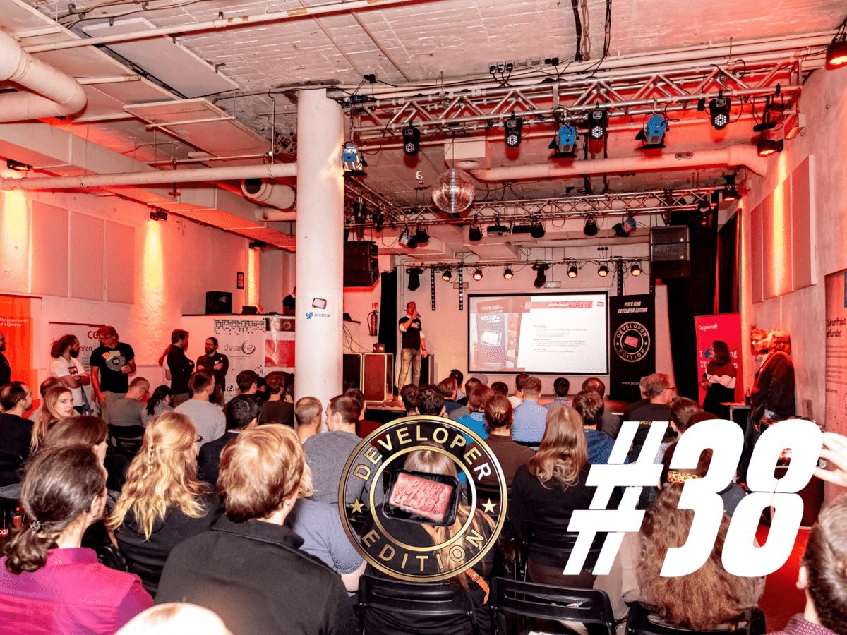 Eventrückblick der 38. Pitch Club Developer Edition in Hamburg
