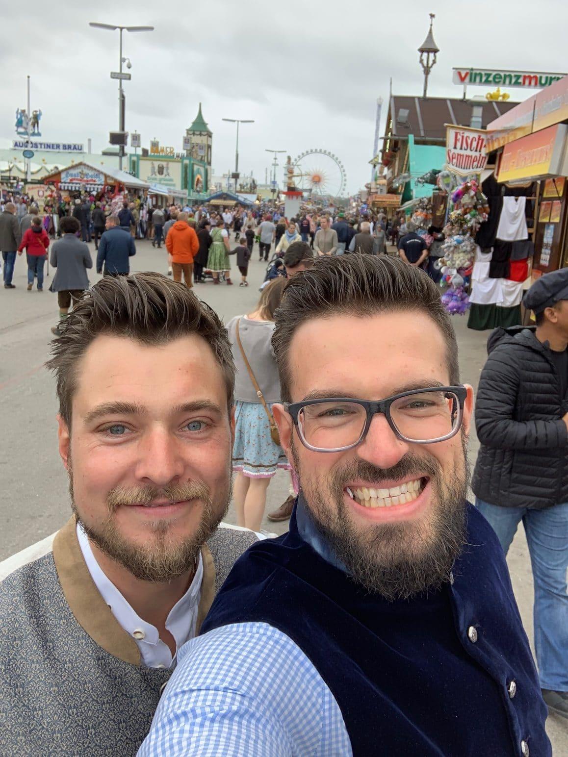 Marcel und Henrik, Teamleiter Diva-e